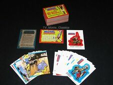 MASTERS OF THE UNIVERSE ©1984 Topps Complete 88 Card & 21 Sticker Set