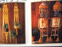 Hang it All book 5, macrame patterns: curtains, baby swing, plant hangers - pics