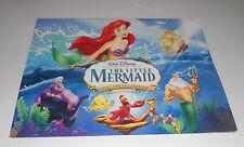 "Walt Disney Little Mermaid Art Lithograph 4 Print Set 11"" x 14"" MIP"