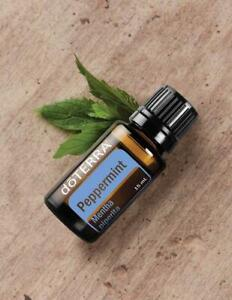 Doterra Peppermint Essential Oil 15ml New and Sealed Free shipping Exp: 2024