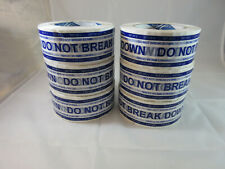 """6 Rolls Packing Tape 2"""" x 110 Yards Printed With """"Do Not Break Down Set of 2"""""""