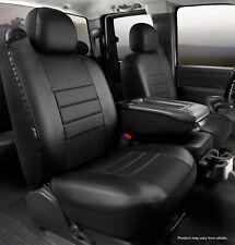 Fia SL68-36 BLK/BLK LeatherLite Custom Seat Cover