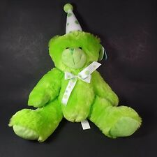 Green Birthday Bear by Beverly Hills Teddy Bear Company Plush Party Gift