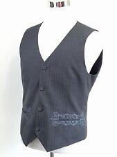 INTERNATIONAL CONCEPTS Traditional Waistcoat VEST EMBROIDERED PKTS Men's MEDIUM
