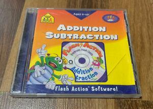 School Zone: Addition/Subtraction (PC/Apple Mac, 2003) Windows Flash Software