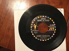 ROCK & ROLL 45 RPM RECORD - JAMES GILREATH - JOY 45K - 274