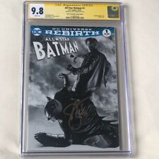 All Star Batman #1 💥 CGC 9.8 SS SIGNED SCOTT SNYDER 💥 AOD SKETCH VARIANT 2016