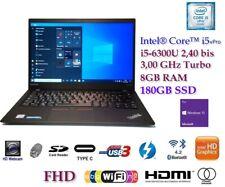 Lenovo ThinkPad X1 Carbon i5-6300U 8GB 180SSD WIN10PRO FHD CAM FP *SONDERPREIS*