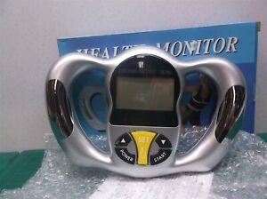 Digital handheld health monitor- Fat-BMI-Kcal