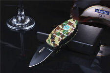 Multi Windproof Refillable Butane Gas Jet Flame Cigarette Lighter Fold Knife NI