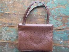 Vintage Authentic Pedro Mayorga Ostrich Kelly Handbag