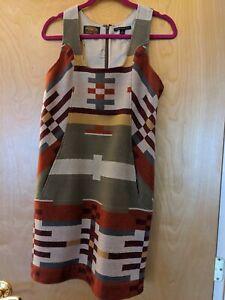 Pendleton Portland Collection Wool Dress Size Medium