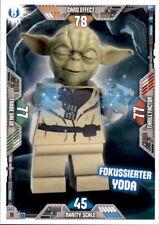 11 - Fokussierter Yoda - LEGO Star Wars Serie 2