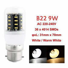 AU E27 B22 E14 GU10G9 4014 SMD LED LAMP CORN BULB LIGHT 220-240V WARM COOL WHITE