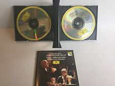 Anton Bruckner Symphony No.8 Karajan Wiener Philharmoniker 2 set CD box digital