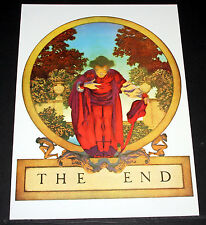 "MAXFIELD PARRISH PORTFOLIO PRINT, 1924 ""THE END"" LARGE SIZE, 11X15!"