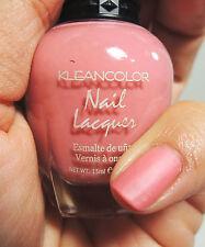 1Pc Kleancolor Nail Polish Lacquer #255 Savvy Pink- Matte Pink