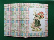 HOLLY HOBBIE Maxi Quaderno scuola vintage A4 quadretti cop rigida copybook