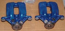 BMW Brand F10 M5 F12 F13 M6 Blue Brembo Rear Brake Kit Pads Calipers Rotors New