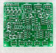 3 band audio pass filter Pcb, Diy low high bandpass music sound speech voice mic