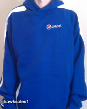 Pepsi Sport-Tek Hooded Stripe Pullover - Sweatshirt - Pepsi - (Men's  XL)  *NEW