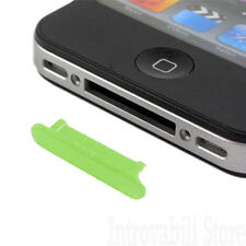 TAPPO ANTIPOLVERE DOCK PER IPHONE 3G / 3Gs / 4 / 4s E IPAD 1/2 WIFI/3G VERDE