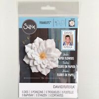 Sizzix David Tutera Large Lily Framelits Die Set Flower Floral Paper Craft
