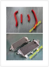 aluminum radiator & red hoses Yamaha YZ450F YZ 450 F 2010-2013 2011 2012