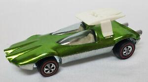 Hot Wheels Redline Swingin' Wing Green Very Good Condition
