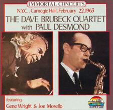 THE DAVE BRUBECK QUARTET With Paul Desmond EU Press Giants Of Jazz 53031 1990 CD
