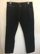 Perry Ellis Premium Denim Jeans Black Size 36x32 -A1