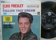 Elvis Presley - Follow That Dream - U.K 1962 Extended Play -  RCX- 211