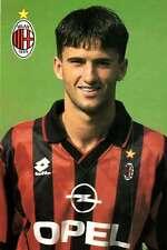 Ac Milan Cartolina Ufficiale 1995-96 Panucci Christian! Nuovissima!
