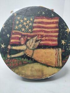 Lang Wax Warmer Patriotic Angel Susan Winget Melting Pot