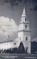 Postcard Main Chapel Fort Benning Columbus Georgia GA