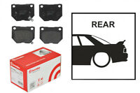 OE Replacement Brembo Rear Brake Pads Skyline R33 GTST