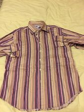 Tm Lewin Shirt Size Large Mens