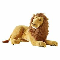 IKEA DJUNGELSKOG Large LION Soft Toy Plush Animal Stuffed Teddy 70cm UK-RVC