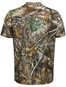 Under Armour UA Real Tree Edge Camo Heatgear Shirt Mens Size XL Fast Shipping
