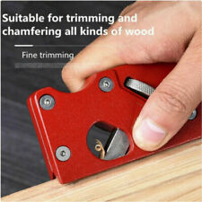 Woodworking tools hand-planing wiping edge corner planer chamfer plane tool
