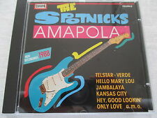 The Spotnicks - Amapola '88 - CD Europa made in West Germany 1988