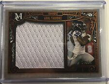 2015 Museum EARL THOMAS Jumbo Relic Patch Card /50 Seahawks