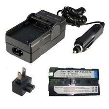 Battery&Charger for SONY DCR-VX2000 DCR-VX2000E DCR-VX2001 DCR-VX2100 DCR-VX1000