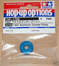 Tamiya 54706 TA07 Aluminum Counter Pulley (TA-07/TA07 Pro), NIP
