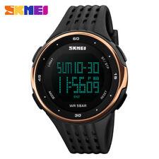 SKMEI Digital Sport Watches Shockproof Women Outdoor LED Electronic Wristwatch