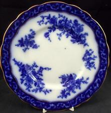 Stanley Pottery TOURAINE (FLOW BLUE) Luncheon Plate VERY GOOD CONDITION