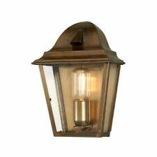 Elstead Lighting St James Wall Lantern Brass