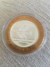 More details for las vegas mccarran airport $10 ltd edition millennium gaming token 999 silver