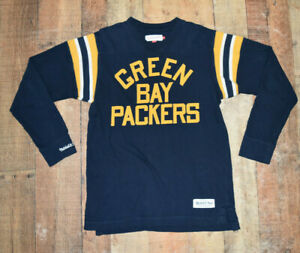 WOW Green Bay Packers Long Sleeve Jersey Mitchell & Ness Retro Acme Men Large