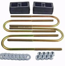 "Ranger Lift Kit Rear 2"" Cast Steel Blocks & U Bolts 1998 - 11 Ford Truck 4x4 4x2"